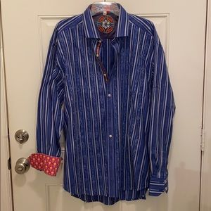 Robert Graham men's shirt 3XL like New
